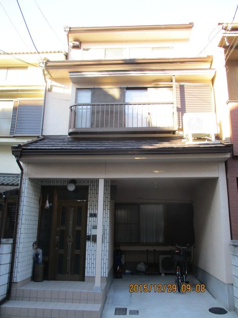 中京区 O様邸 外壁塗装工事