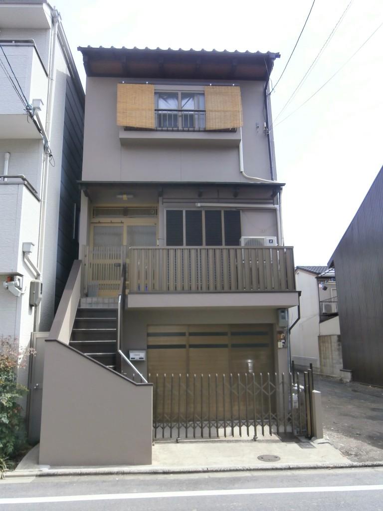 中京区 H様邸 外壁塗装工事